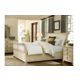 Paula Deen Home River House Sleigh Bedroom Set in River Boat