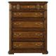 Stanley Furniture Arrondissement Grand Rue 5-Drawer Chest in Heirloom Cherry 222-13-10 CLOSEOUT