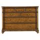 Stanley Furniture Arrondissement Belle Mode Dresser in Sunlight Anigre 222-63-05