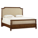 Stanley Furniture Arrondissement Queen Palais Upholstered Bed in Sunlight Anigre 222-63-42