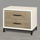 Universal Furniture Great Rooms Spencer Nightstand in Gray/Parchment 219350