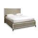 Universal Furniture Great Rooms Spencer Queen Storage Bed in Gray/Parchment 219210SB