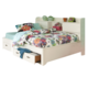 Legacy Classic Kids Park City Study Lounge Full Bed in White SPECIAL