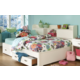 Legacy Classic Kids Park City Study Lounge Twin Bed in White PROMO