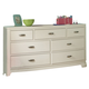 Legacy Classic Kids Park City Dresser in White