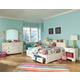 Legacy Classic Kids Park City Study Lounge Bedroom Set in White