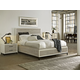 Universal Furniture Great Rooms Spencer Storage Bedroom Set in Gray/Parchment