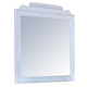 New Classic Alexandra Youth Mirror in Rubbed White 05-106-062