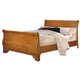 New Classic Honey Creek Eastern King Sleigh Bed in Caramel Finish 1133-111A