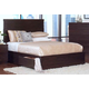 New Classic Century City King Storage Bed in Sable 00-801-115