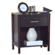 New Classic Keaton Nightstand in Dark Espresso 00-987-040