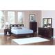 New Classic Keaton Bedroom Set in Dark Espresso 00-987
