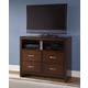 New Classic Kensington 4 Drawer Media Chest in Burnished Cherry 00-060-078