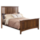 New Classic Logan King Panel Bed in Spice 00-100-110
