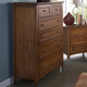 New Classic Logan 6-Drawer Chest in Spice 00-100-070