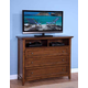 New Classic Logan 3-Drawer Media Console in Spice 00-100-078