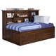 New Classic Logan Youth Twin Lounge Bed in Spice 05-100-512