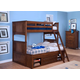 New Classic Logan Youth Bunk Bedroom Set in Spice