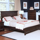 New Classic Prescott California King Panel Bed in Sable 00-181-215