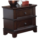 New Classic Prescott 2-Drawer Nightstand in Sable 00-181-040