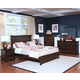 New Classic Prescott Panel Bedroom Set in Sable 00-181