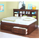 New Classic Sheridan 4-pc Youth Lounge Bedroom Set in Spice 05-005-LOUNGE