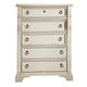 American Woodcrafters Heirloom Collection Chest in Antique White 2910-150 PROMO