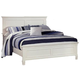 New Classic Tamarack King Panel Bed in White 00-044-115