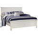 New Classic Tamarack California King Panel Bed in White 00-044-215