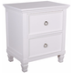 New Classic Tamarack 2-Drawer Nightstand in White 00-044-040