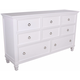 New Classic Tamarack 8-Drawer Dresser in White 00-044-050