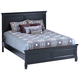 New Classic Tamarack California King Panel Bed in Black 00-045-215
