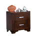 New Classic Urbandale 2-Drawer Nightstand in Tobacco 00-050-040
