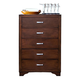 New Classic Urbandale 5-Drawer Chest in Tobacco 00-050-070