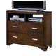 New Classic Urbandale 2-Drawer Media Chest in Tobacco 00-050-078