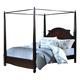 New Classic Victoria Queen Poster Bed in Espresso 00-623-311