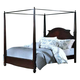 New Classic Victoria King Poster Bed in Espresso 00-623-111