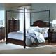 New Classic Victoria California King Poster Bed in Espresso 00-623-211