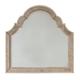 Hooker Furniture Sanctuary Shaped Landscape Mirror in Pearl Essence 3023-90009