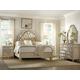 Hooker Furniture Sanctuary Tufted Bedroom Set in Pearl Essence