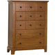 American Woodcrafters Bradford Drawer Chest in Rich Cherry 82000-150