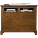 American Woodcrafters Bradford Entertainment Dresser in Rich Cherry 82000-232