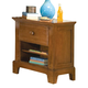 American Woodcrafters Bradford Small Nightstand in Rich Cherry 82000-410