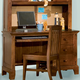 American Woodcrafters Bradford Computer Desk in Rich Cherry 82000-342