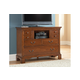 American Woodcrafters Nantucket Entertainment Furniture in Honey Brown 1900-232