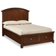 Legacy Classic Kids Impressions Full Panel Bed with Storage Footboard 2880-4104SK
