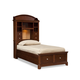 Legacy Classic Kids Impressions Twin Bookcase Bed with Storage Footboard 2880-4803K