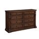A.R.T. Whiskey Oak Drawer Dresser in Barrel Oak 205130-2304