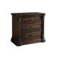 A.R.T. Whiskey Oak Three Drawer Nightstand in Barrel Oak 205140-2304