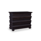 A.R.T. Whiskey Oak Accent Drawer Chest in Weathered Black 205150-2318